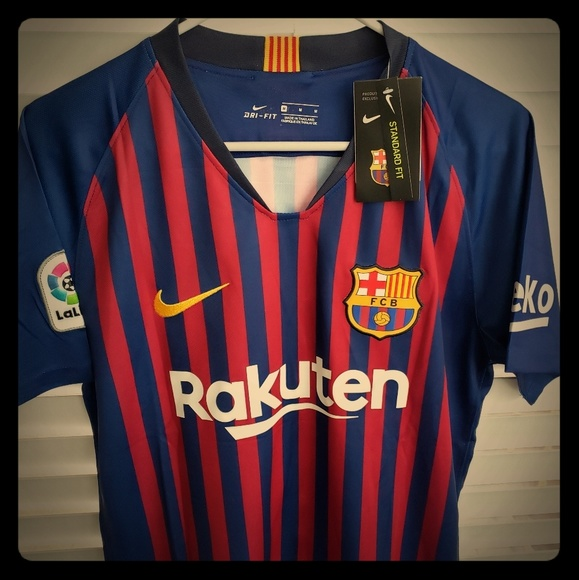 f89180f1ddf Nike Other | Mens Fc Barcelona 10 Messi Soccer Jersey | Poshmark